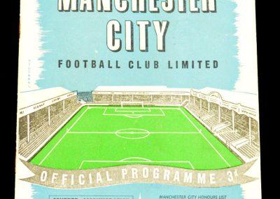 Manchester City v Chelsea 04.09.1957