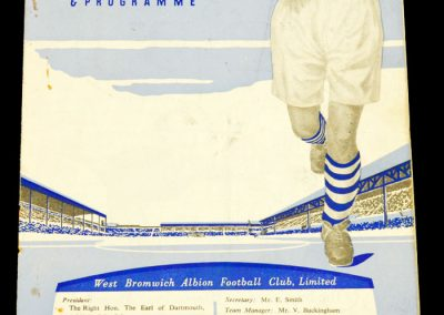 West Bromwich Albion v Chelsea 18.09.1957