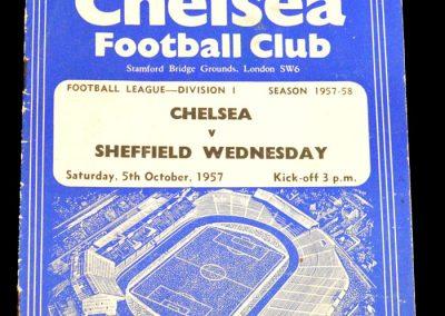 Sheffield Wednesday v Chelsea 05.10.1957