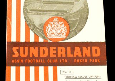 Sunderland v Chelsea 16.11.1957