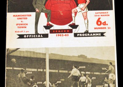 Ipswich Town v Manchester United 23.03.1963