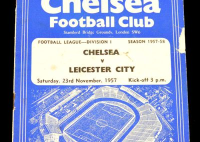 Leicester City v Chelsea 23.11.1957