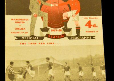 Manchester United v Chelsea 14.12.1957
