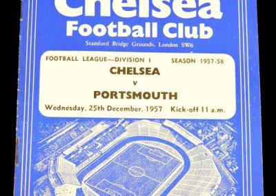 Portsmouth v Chelsea 25.12.1957