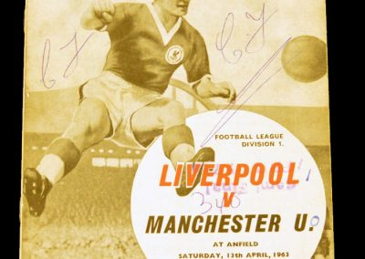 Liverpool v Manchester United 13.04.1963