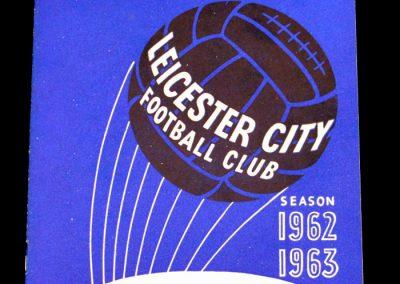 Leicester City v Manchester United 16.04.1963