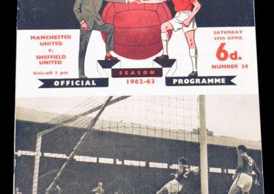 Sheffield United v Manchester United 20.04.1963