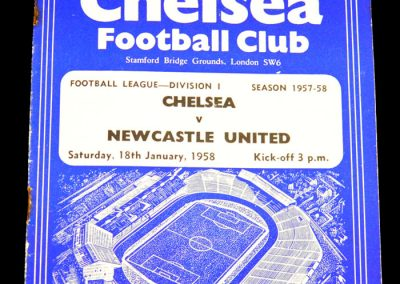Newcastle United v Chelsea 18.01.1958