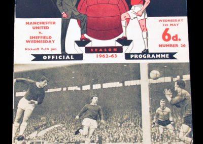 Sheffield Wednesday v Manchester United 01.05.1963
