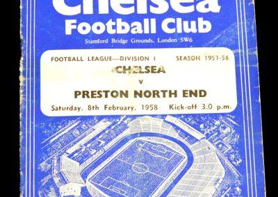 Preston North End v Chelsea 08.02.1958