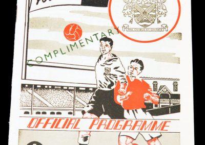 Fulham FC v Hull City 16.04.1955