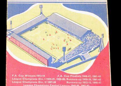 Burnley FC v Manchester United 04.05.1963