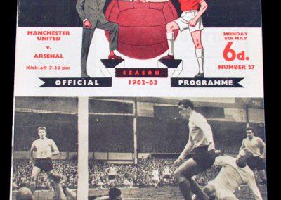 Arsenal v Manchester United 06.05.1963