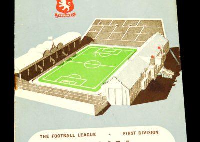 Aston Villa v Chelsea 22.02.1958