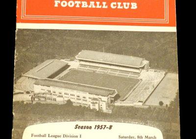 Arsenal v Chelsea 08.03.1958