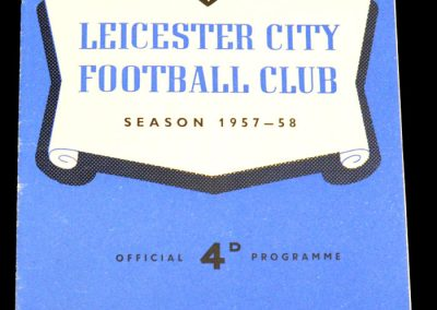 Leicester City v Chelsea 22.03.1958