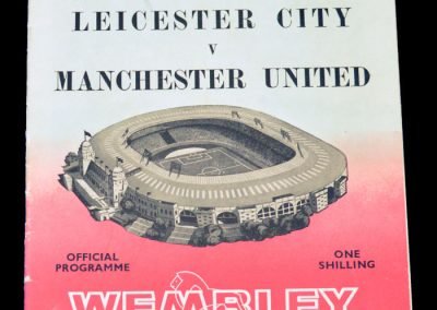 Leicester City v Manchester United 25.05.1963 | FA Cup final