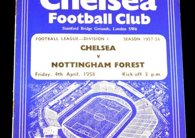 Nottingham Forest v Chelsea 04.04.1958