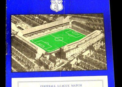 Wolverhampton Wanderers v Everton 24.08.1957