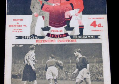 Sheffield United v Manchester United 01.09.1954