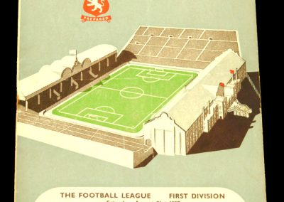Everton v Aston Villa 31.08.1957