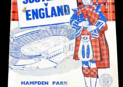Scotland v England 14.04.1962