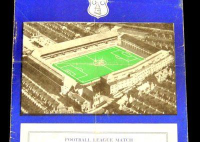 Chelsea v Everton 07.09.1957