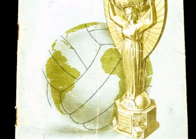 1962 World Cup Tournament Brochure