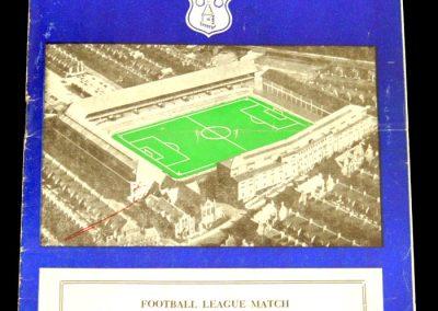 Sunderland v Everton 14.09.1957