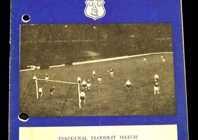 Liverpool v Everton 09.10.1957 | Floodlit