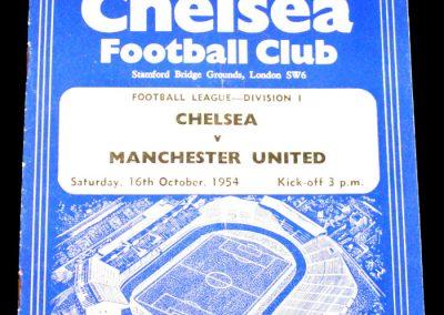 Chelsea v Manchester United 16.10.1954