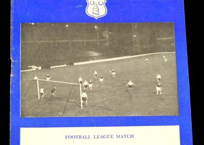 Arsenal v Everton 16.10.1957