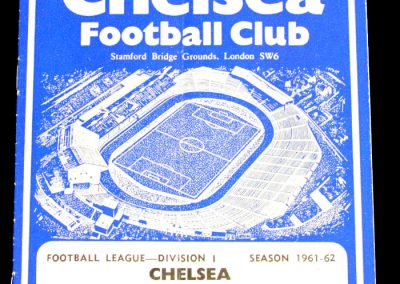 Chelsea v Nottingham Forest 19.08.1961