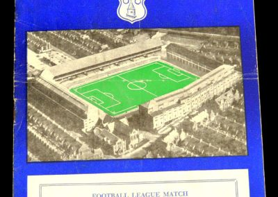 Everton v Burnley 19.10.1957