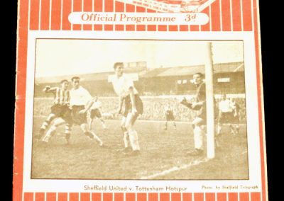 Sheffield United v Manchester United 13.11.1954