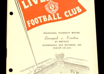 Liverpool FC v Everton 30.10.1957 | Flootlit
