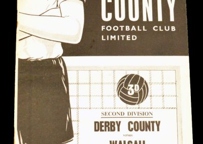Derby County v Walsall 26.08.1961