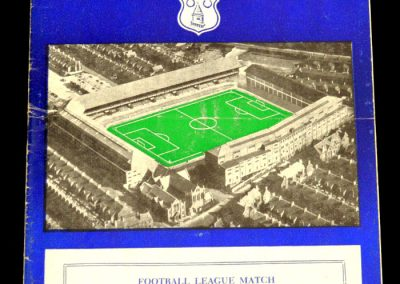 West Bromwich Albion v Everton 02.11.1957