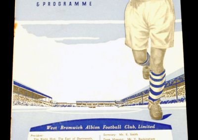 West Bromwich Albion v Manchester United 27.11.1954