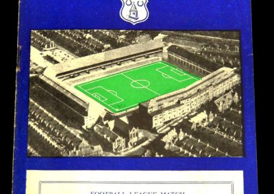 Birmingham City v Everton 16.11.1957