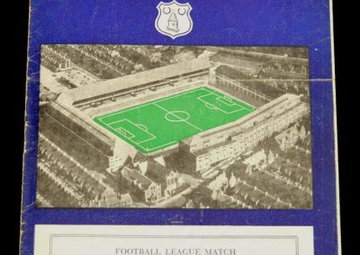 Sheffield Wednesday v Everton 30.11.1957