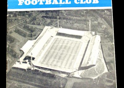 Birmingham City v Burnley FC 16.09.1961