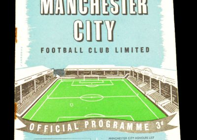 Manchester City v Everton 07.12.1957