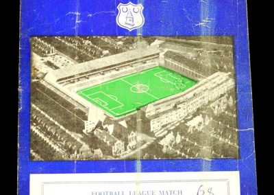 Nottingham Forest v Everton 14.12.1957