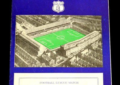 Bolton Wanderers v Everton 25.12.1957
