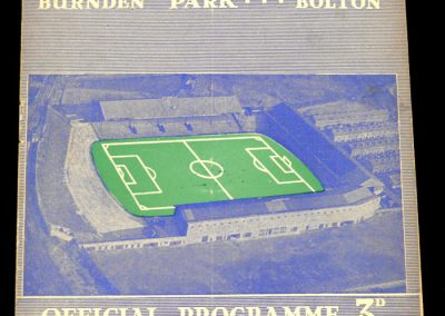 Bolton Wanderers v Everton 26.12.1957