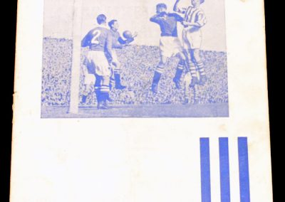Huddersfield Town v Manchester United 05.02.1955