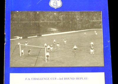 Sunderland v Everton 08.01.1958 | FA Cup 3rd Round Replay