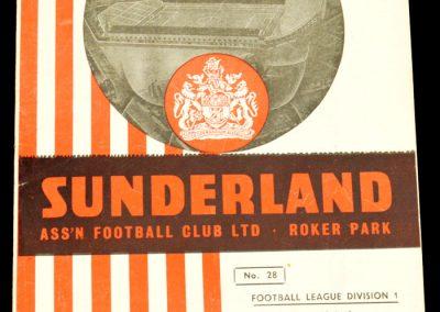 Sunderland v Everton 18.01.1958