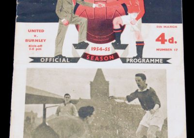 Burnley v Manchester United 05.03.1955